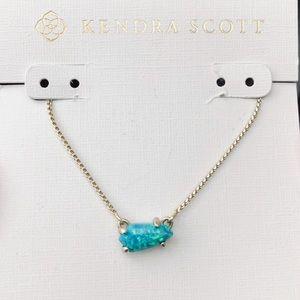 """Kendra Scott Blue Opal """"Jayde"""" Necklace"""
